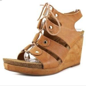Sofft Carita Gladiator Wedge Platform Sandal NWOT